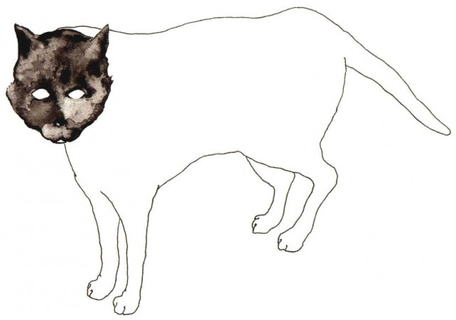 Gatto, disegno di Davide Racca