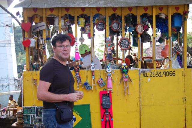 Gianfranco Zavalloni in Brasile