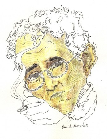 DAVIDE RACCA, Ritratto di Roberto Bolaño, 2013