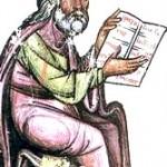 L'immagine è un ritratto di Ippocrate