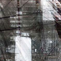 """L'immagine è le lettera """"B"""" della serie Frammentato abbecedario di un viaggio, di Raffaella Garavini."""