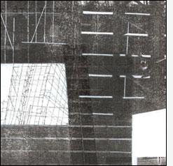 """L'immagine è le lettera """"H"""" della serie Frammentato abbecedario di un viaggio, di Raffaella Garavini."""