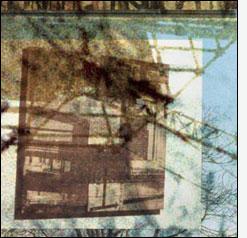 """L'immagine è le lettera """"I"""" della serie Frammentato abbecedario di un viaggio, di Raffaella Garavini."""