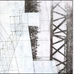 """L'immagine è le lettera """"L"""" della serie Frammentato abbecedario di un viaggio, di Raffaella Garavini."""