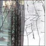 """L'immagine è le lettera """"M"""" della serie Frammentato abbecedario di un viaggio, di Raffaella Garavini."""
