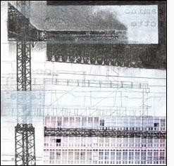 """L'immagine è le lettera """"N"""" della serie Frammentato abbecedario di un viaggio, di Raffaella Garavini."""