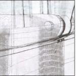 """L'immagine è le lettera """"O"""" della serie Frammentato abbecedario di un viaggio, di Raffaella Garavini."""