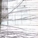 """L'immagine è le lettera """"A"""" della serie Frammentato abbecedario di un viaggio, di Raffaella Garavini."""