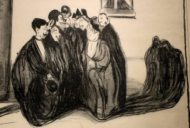 Edvard Munch, Dopo la festa