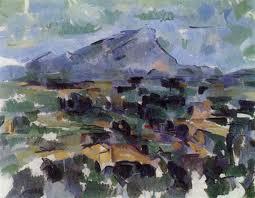 Paul Cézanne, Montagna Saint Victoire, 1867