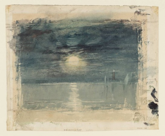 Joseph Mallord William Turner, Shields Lighthouse (c. 1823-6)