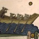 Miniatura dal Pontificale di Guillaume Durand (XIII sec.)