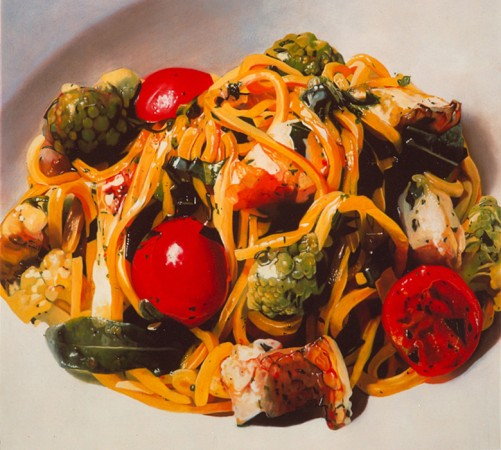 Francesco Lauretta, Pasta alla chitarra con ragout di gallinella di mare e broccoletti romaneschi
