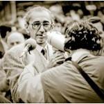 1991,Belgrado. Borislav Pekic alle manifestazioni anti-Miloševic