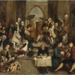 Joshua Reynolds, Parodia della SCUOLA DI ATENE