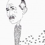 Robert Walser disegnato da Davide Racca
