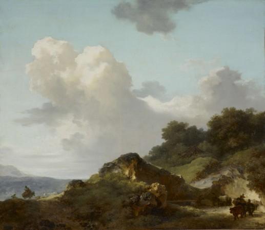 FRAGONARD, Le rocher (1765 ca.)