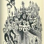 Disegno di Mirando Haz dedicato a Charles Dickens