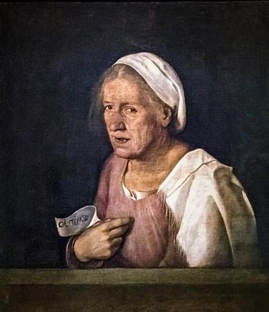 Col tempo by Giorgione