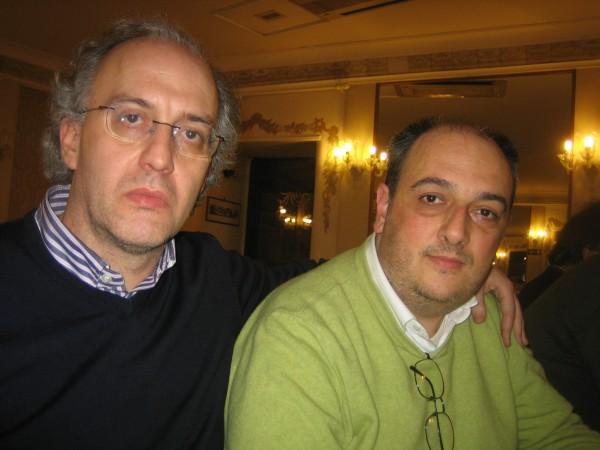 Massimo Rizzante ed Enrico De Vivo
